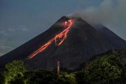 Indonesia's Mount Merapi erupts, spews red-hot lava