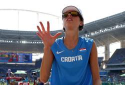 Double high jump world champion Vlasic retires