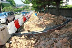 Extra drains being built to alleviate flash floods in Taman Menjalara