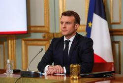 France's Macron: 'I do believe in NATO'