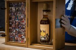 Sotheby's to auction off artist Sir Peter Blake-labelled Macallan bottle