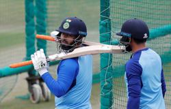 India's Pant returns for England T20s