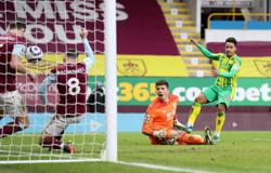 Burnley held to stalemate at home by 10-man West Brom