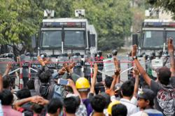 France condemns Myanmar security forces' violence against peaceful demonstrators - ministry
