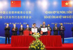 Vietnam and China agree to enhance cooperation on busting crimes