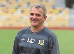 Perak coach Mehmet Durakovic's contract likely to be terminated
