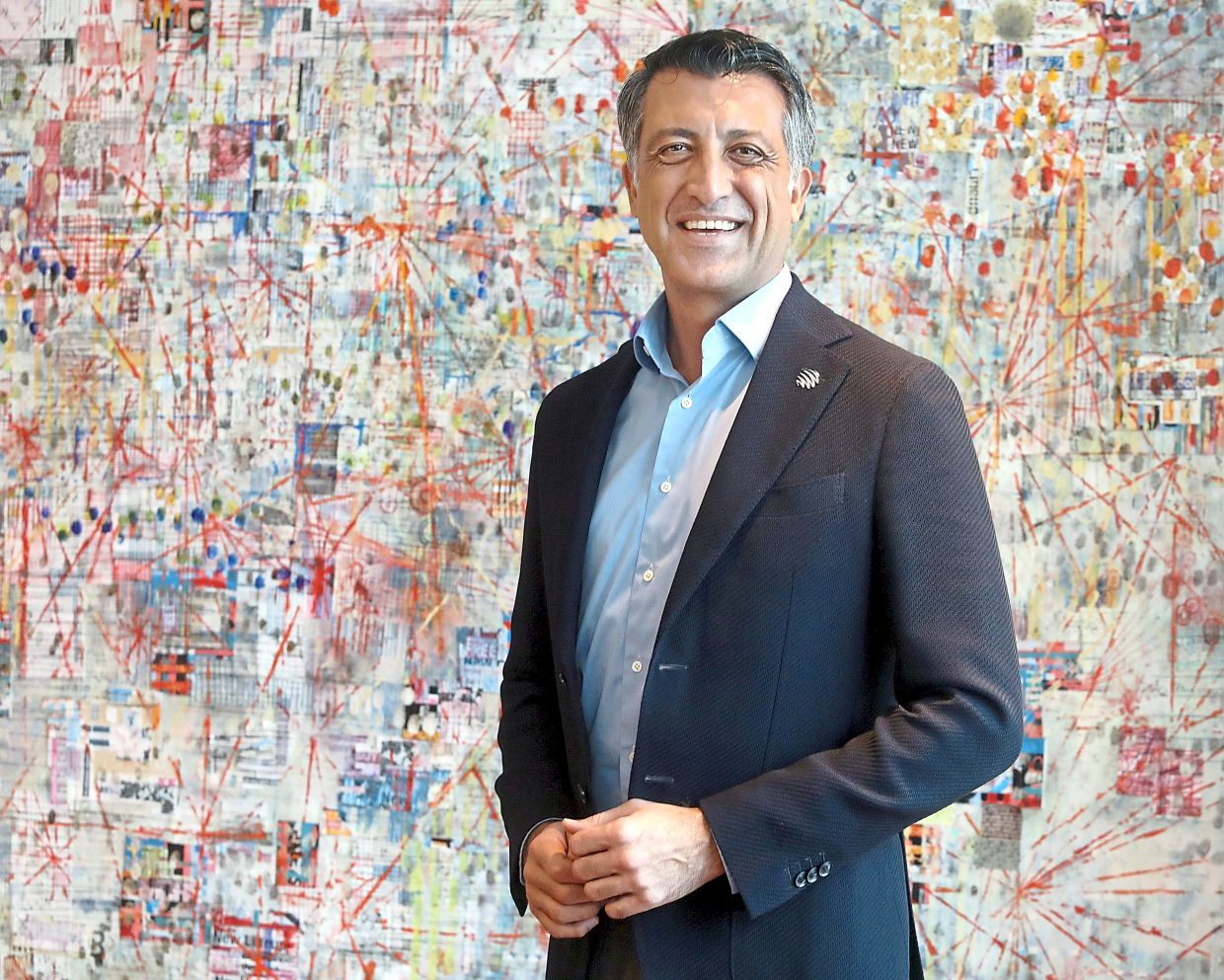 Maxis CEO Gokhan Ogut said that digital inclusion is important and that everyone should benefit from it.