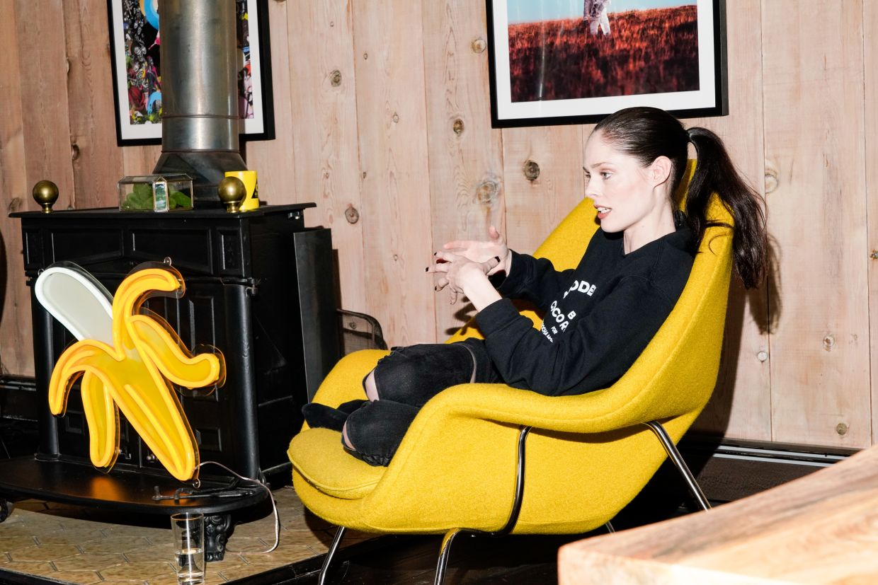 Coco Rocha is now teaching new models to navigate the industry. Photo: Bloomberg