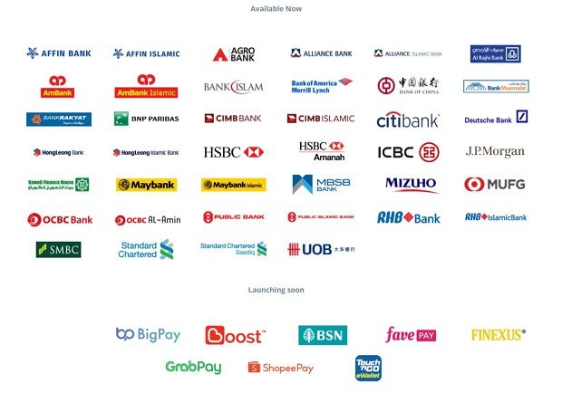 Banks and e-money providers that participate in DuitNow with more signing up.