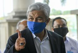 Advise Zahid to refrain from attending meetings, defence team told after trial postponed again