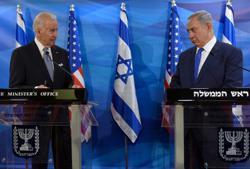 Between Biden call and ballot, Netanyahu seeks Iran consensus with rivals