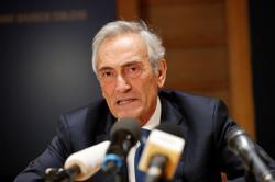 Gravina re-elected as president of Italian Football Federation