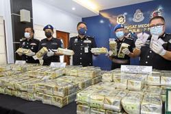 Penang marine cops score big drug bust