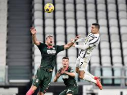Ronaldo double helps Juve cruise past Crotone to go third