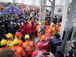 28 officials held accountable for east China gold mine blast