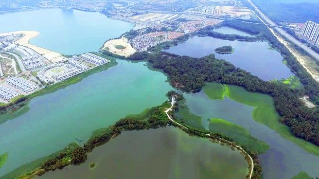 The proposed Off-River Storage (ORS) ponds in Rasau.