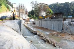 Preventing pollution at river basins