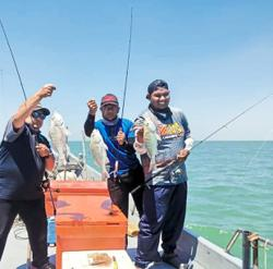 Joyous return to fishing
