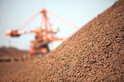 Iron ore imports hit record in 2020