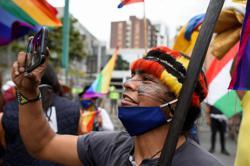 Ecuadorean indigenous protesters demand presidential vote recount
