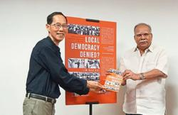 Activist unveils his journey into local government in book