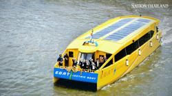 Free Chao Phraya River electric boat rides for six months