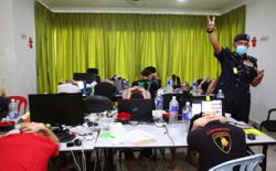 Online gambling bust: 31 arrested, including four China nationals in Hulu Langat house