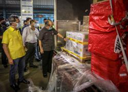 First batch of 23,400 Pfizer Covid-19 vaccine arrives in Sarawak