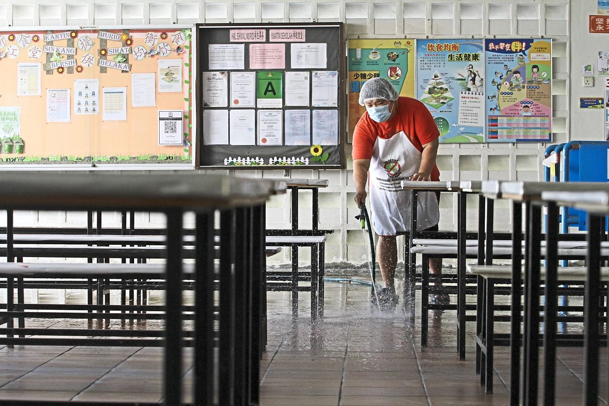 New protocols for safe food preparation practices need to be in place for the reopening of schools. Photo: Filepic