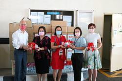 Hospital treats frontliners, gives essentials to charity homes
