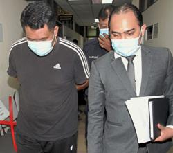 Cop in the dock, wife still at large in MACC case