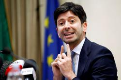 Italy's health minister rules out loosening of COVID-19 curbs
