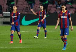 Title race is on, says Barcelona's Alba