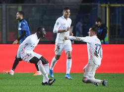 Mendy fires late winner as Real struggle to beat 10-man Atalanta