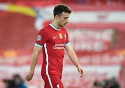 Liverpool forward Jota returns to training after knee injury