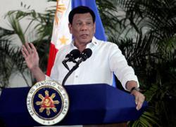 Philippines' Duterte says still undecided on future of US troop deal