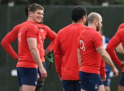 Uncapped Martin, 19, on bench for England against Wales
