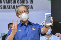 'I'm fine, vaccine is safe, ' says Muhyiddin a day after inoculation