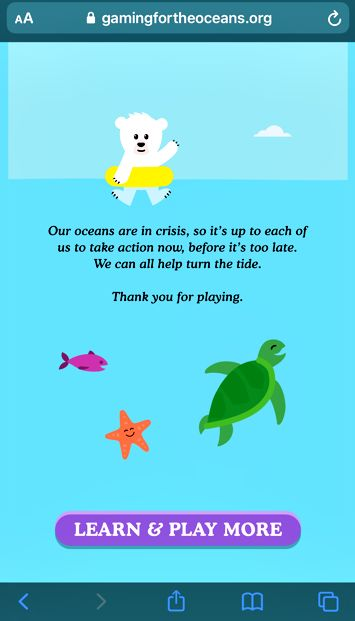 Playing certain games teaches us about plastic pollution, says Kylie. Photo: Nur Kylie Khalieshah