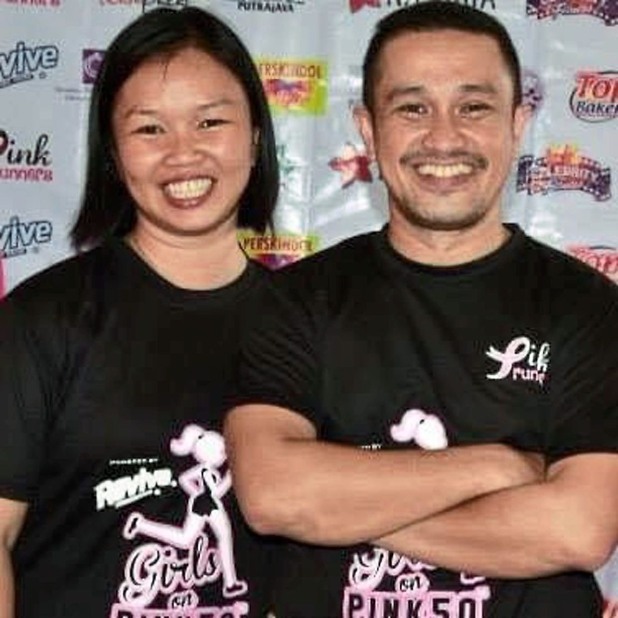 Suzie and her husband Arman Salleh are pleased with the overwhelming response to the Putrajaya 100 Miles virtual run.
