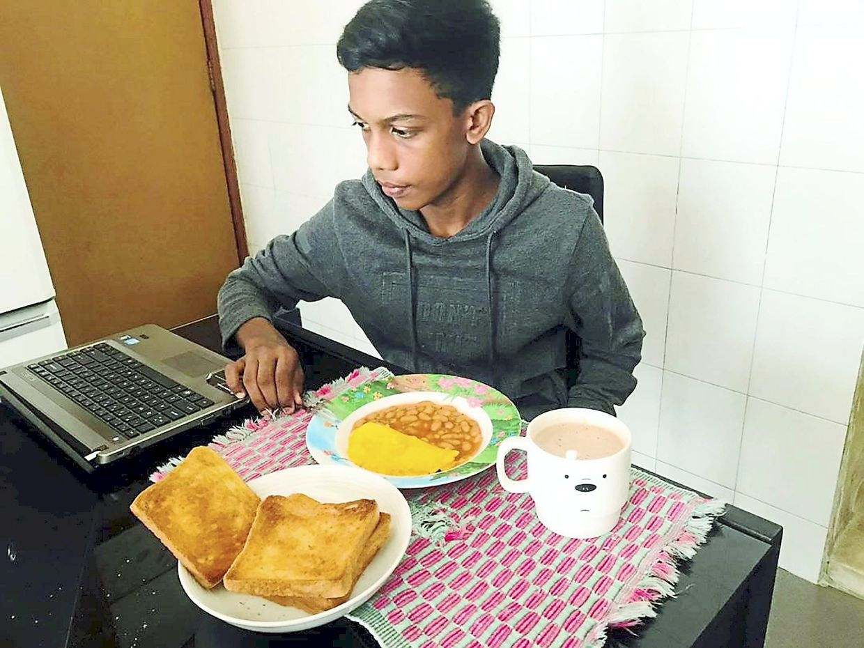 Daaraneswaran is a busy teenager juggling school work, trail running and participating in competitive events.