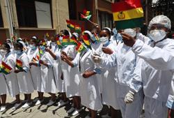 Bolivia begins inoculation with Sinopharm jabs