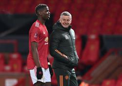 Pogba still out with thigh injury, says United boss Solskjaer