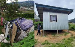 Kundasang senior citizen who lived in 'sulap' gets new home