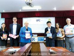 Unicef provides Laos with Covid-response learning materials