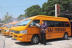 School bus drivers keen to start work