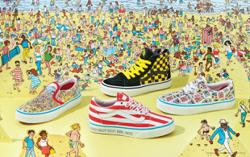 Wheres Waldo? goes for a walkabout in this book and sneaker collaboration