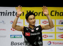 Laureus lauds Momota for great comeback with award nomination