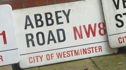 London street signs on sale at auction