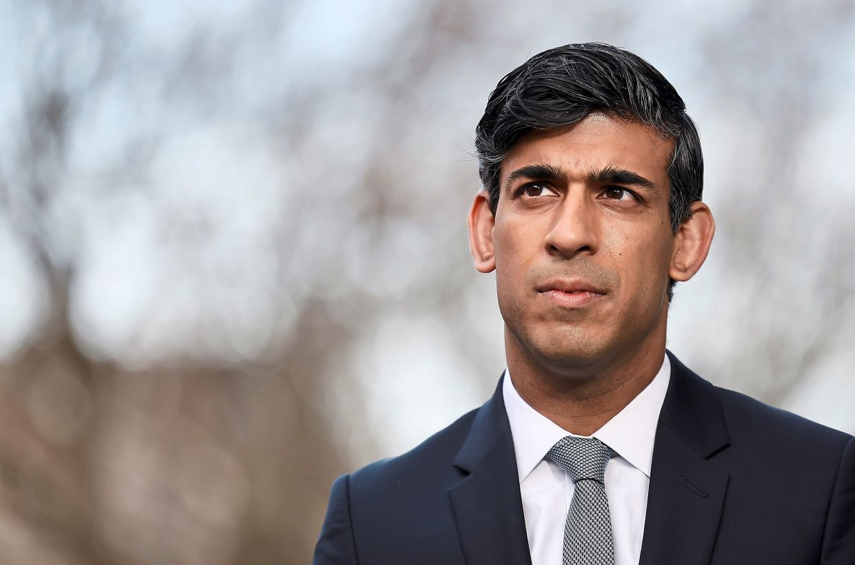 British finance minister Rishi Sunak said he would not try to fix the public finances overnight.